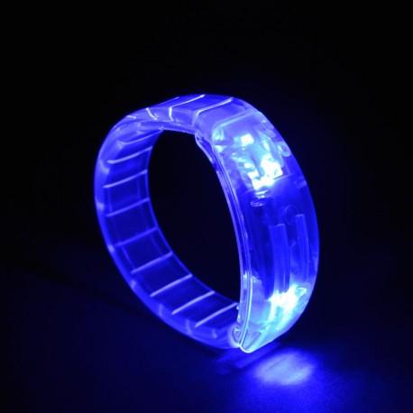 Braccialetto luminoso Light Pulse BLU - LED