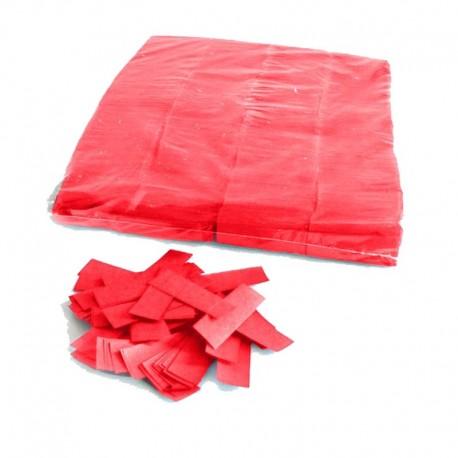 Coriandoli rossi professionali a caduta lenta - 1 kg