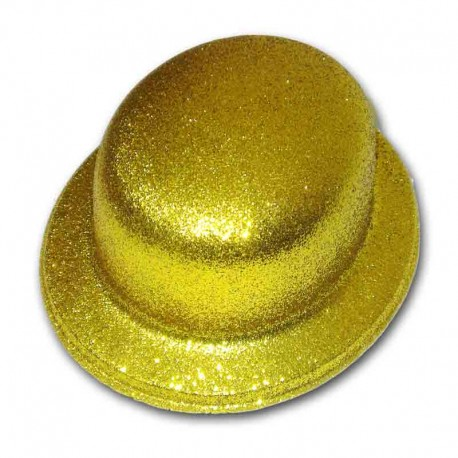 Bombetta glitter - ORO