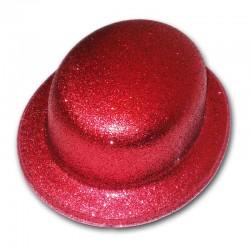 Bombetta glitter - ROSSO