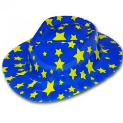 Cappello Cowboy BLU STELLATO