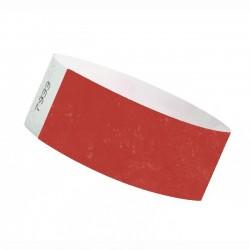 Braccialetti identificativi- ROSSO - TYVEK 25mm