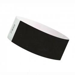 Braccialetti identificativi- NERO - TYVEK 25mm