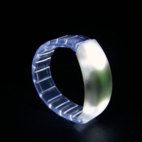 Braccialetto luminoso Light Pulse BIANCO ROSSO VERDE BLU - LED