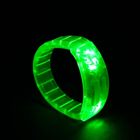 Braccialetto luminoso Light Pulse VERDE - LED