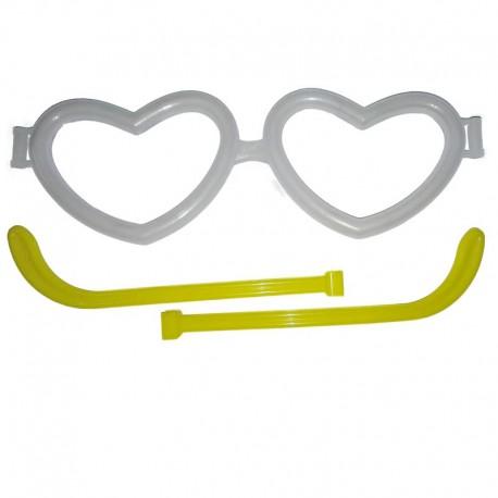 25 montature occhiali a cuore accesi