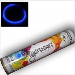 Braccialetti Luminosi BLU in tubo da 100 Pz