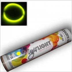 Braccialetti Luminosi - GIALLO - tubo da 100 pz
