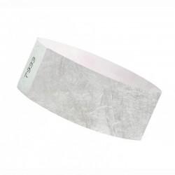 Braccialetti identificativi- SILVER- TYVEK 25mm