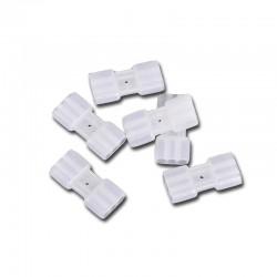 Connettori tripli per braccialetti - 25 pz